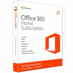 Microsoft Office 365 home Premium 1 License 5 users - Gadgitechstore.com