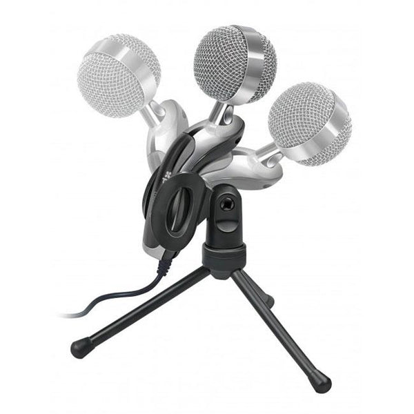 Promate Tweeter-6 Digital Tablet HD Microphone with Swivel Base