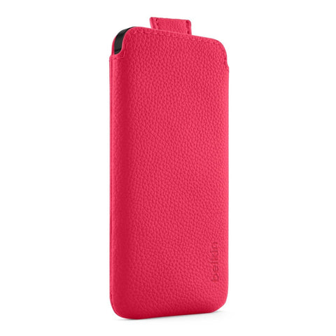 Belkin CASE LEATHER IPHONE 5/5S, PULL TAB - GadgitechStore.com Lebanon - 2