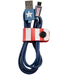 Tribe Captain America Cable Micro USB Line