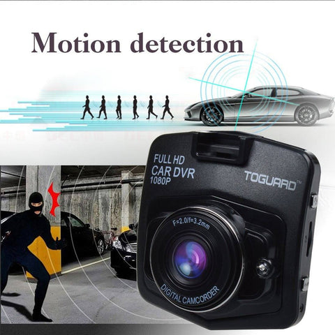 "TOGUARD Mini Car DVR Camera 2.4"" Full HD 1080P Dashcam - GadgitechStore.com Lebanon - 3"