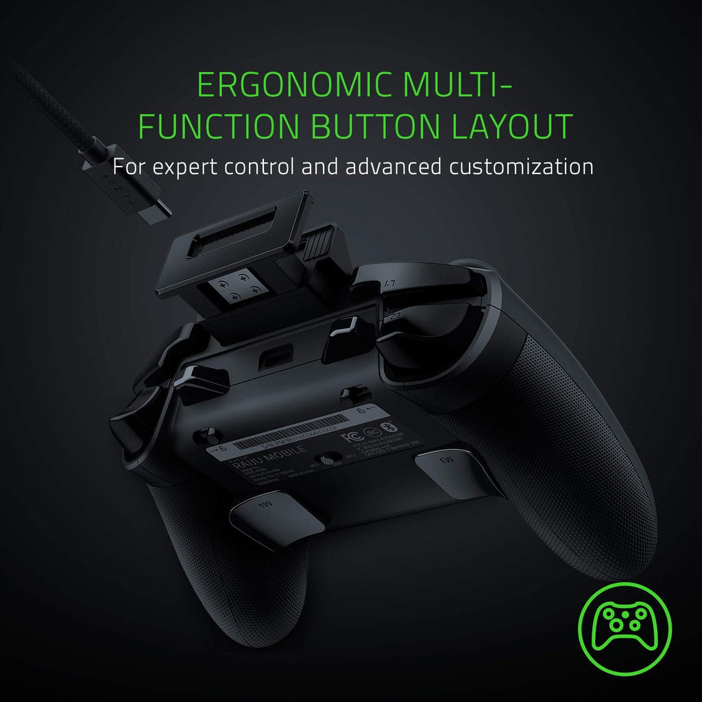 Razer Raiju Mobile Mobile Gaming Controller For Android Gadgitechstore Com Find many great new & used options and get the best deals for razer raiju mobile gaming controller for android at the best online prices at ebay! razer raiju mobile mobile gaming controller for android