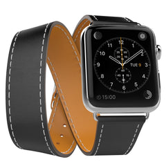 MoKo Luxury Genuine Leather Apple Watch Band Strap 38mm - Gadgitechstore.com