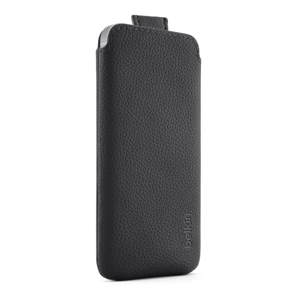 Belkin CASE LEATHER IPHONE 5/5S, PULL TAB - Gadgitechstore.com