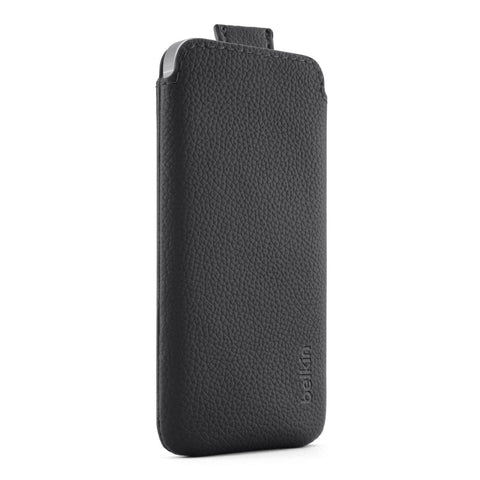 Belkin CASE LEATHER IPHONE 5/5S, PULL TAB - GadgitechStore.com Lebanon - 1