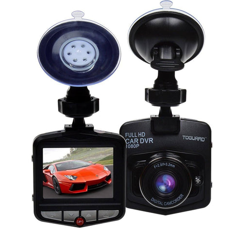 "TOGUARD Mini Car DVR Camera 2.4"" Full HD 1080P Dashcam - GadgitechStore.com Lebanon - 2"