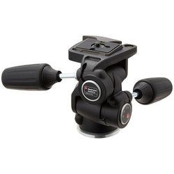 Manfrotto 804RC2 3-Way Pan/Tilt Head with RC2 Quick Release & 200PL QR Plate