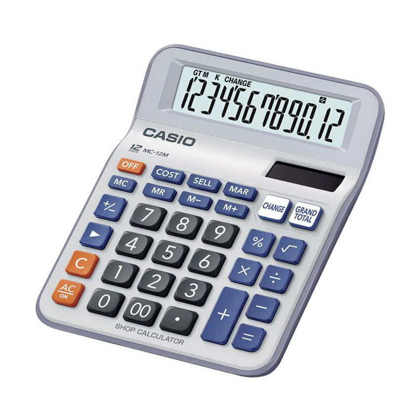 Casio Shop Calculator MC-12M