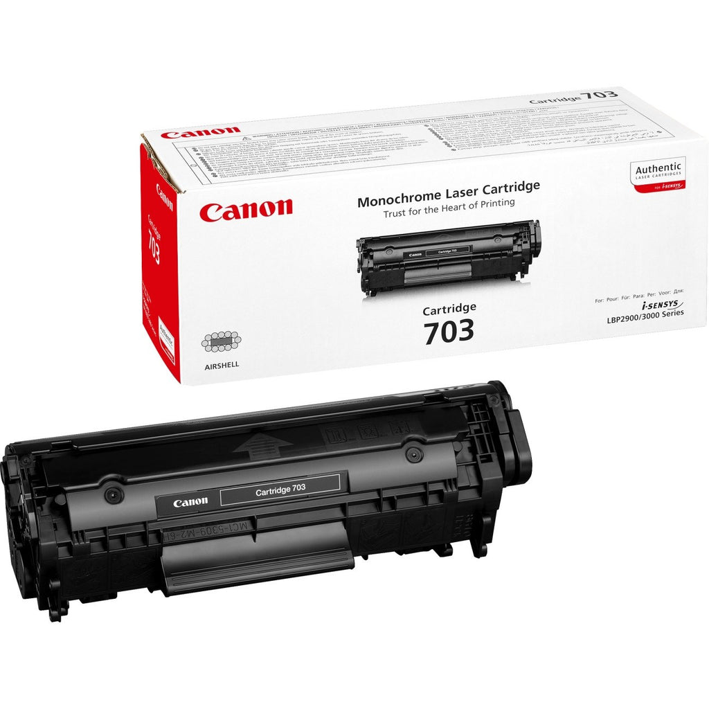 Canon 703 Black Toner Cartridge - Gadgitechstore.com