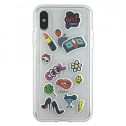 Benjamins iPhone X Puffy Stickers On Soft Case