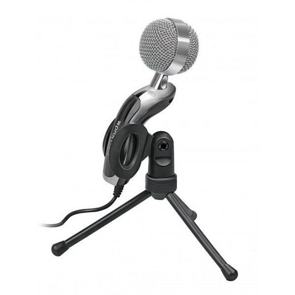 Promate Tweeter-7 Digital Tablet HD Microphone with Swivel Base