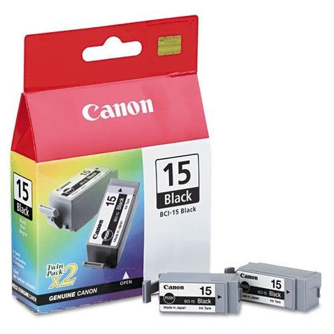 Canon BCI-15 ink tank - Twin pack
