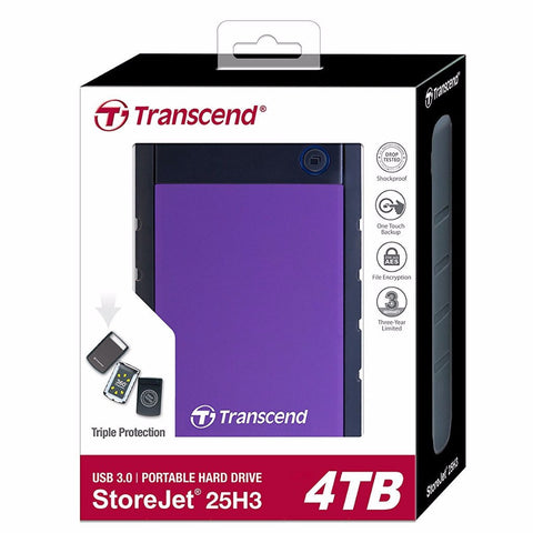 Transcend StoreJet 2.5'' Anti Shock