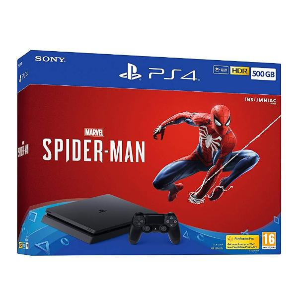 ec7ec98eb Sony Playstation 4 Slim 500GB Spider-Man Bundle