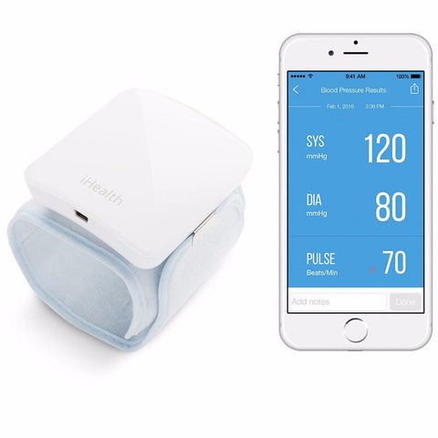 iHealth Wireless Blood Pressure Wrist Monitor BP7