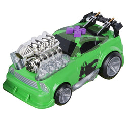 Road Rippers Teenage Mutant Ninja Turtles Mini Ooze Thumper Raphael's Muscle Car Light and Sound Vehicle