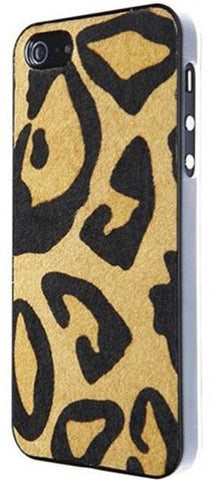 Benjamins Hairy Leather Case For iPhone 5/SE - GadgitechStore.com Lebanon - 2