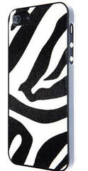 Benjamins Zebra Eco Leather Hard Case For iPhone 5/SE - GadgitechStore.com Lebanon