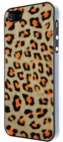 Benjamins Leopard Eco Leather case For iPhone 5/SE - GadgitechStore.com Lebanon - 1