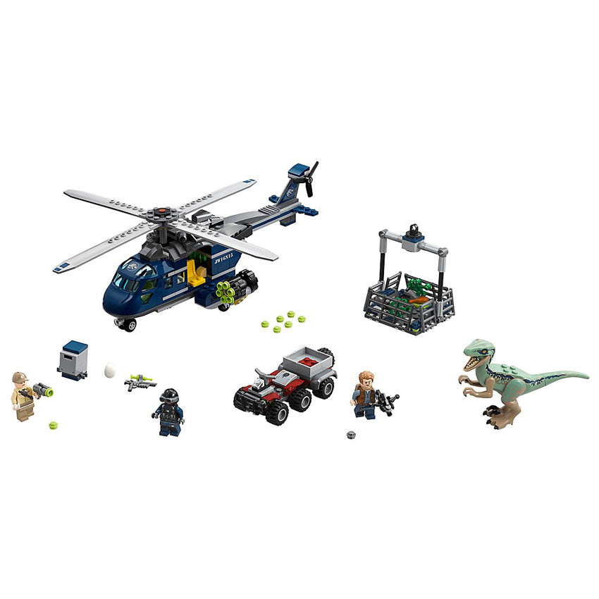 Lego Blue's Helicopter Pursuit (75928)