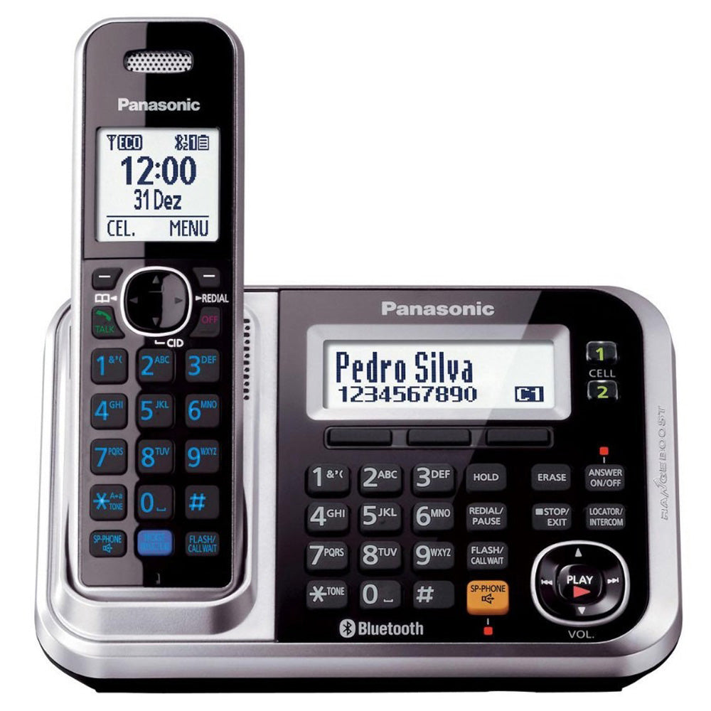 Panasonic Digital Cordless Phone (with Link-to-Cell System) KX-TG7841