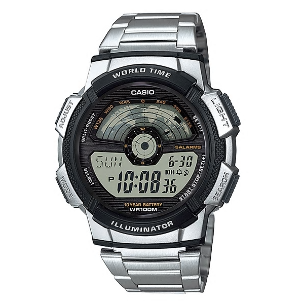 Casio Watches General Digital AE-1100WD-1AVDF