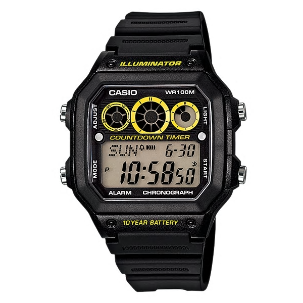 Casio Watches General Digital AE-1300WH-1AVDF (CN)