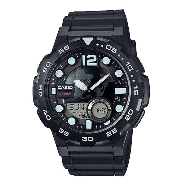 Casio Watches General Analog/Digital AEQ-100W-1AVDF (CN)