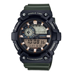 Casio Watches General  Analog/Digital AEQ-200W-3AVDF (CN)