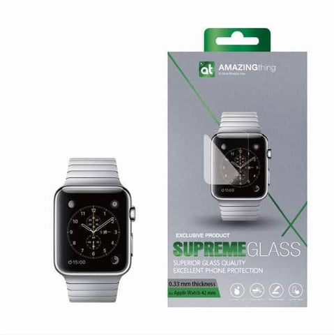 AMAZINGthing Apple Watch 38mm / 42mm Tempered Glass - GadgitechStore.com Lebanon - 2