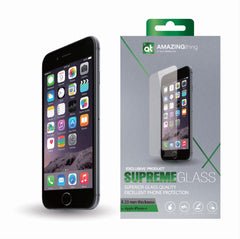 AMAZINGthing iPhone 6/6S 0.33mm Supreme Glass (Crystal) - GadgitechStore.com Lebanon - 1
