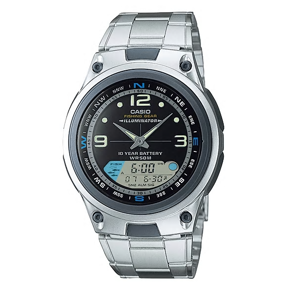 Casio Watches General Analog/Digital AW-82D-1AVDF (CN)