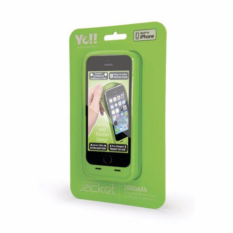 YE!! BPP5 IPHONE 5 2000mAh Battery Cover - GadgitechStore.com Lebanon - 5