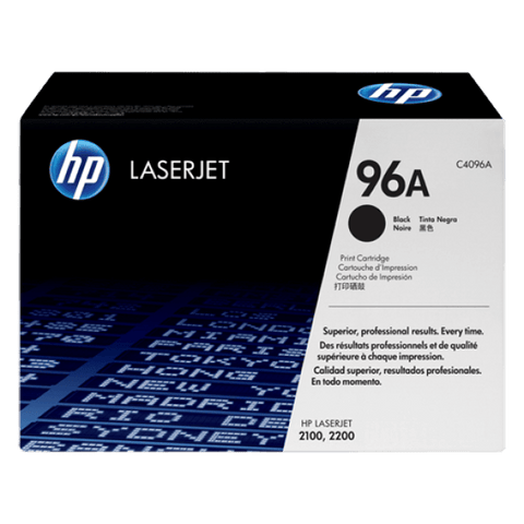 HP 96A Black Original LaserJet Toner Cartridge