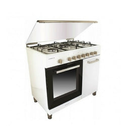 Campomatic Range Cooker with Bottle Compartment 5 Gas Burners 90cm