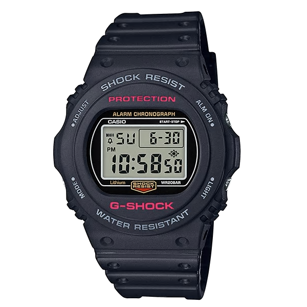 Casio Watches G SHOCK Youth Digital DW-5750E-1DR (CN)