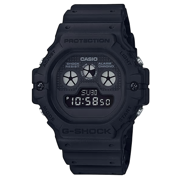 Casio Watches G SHOCK Digital DW-5900BB-1DR (CN)