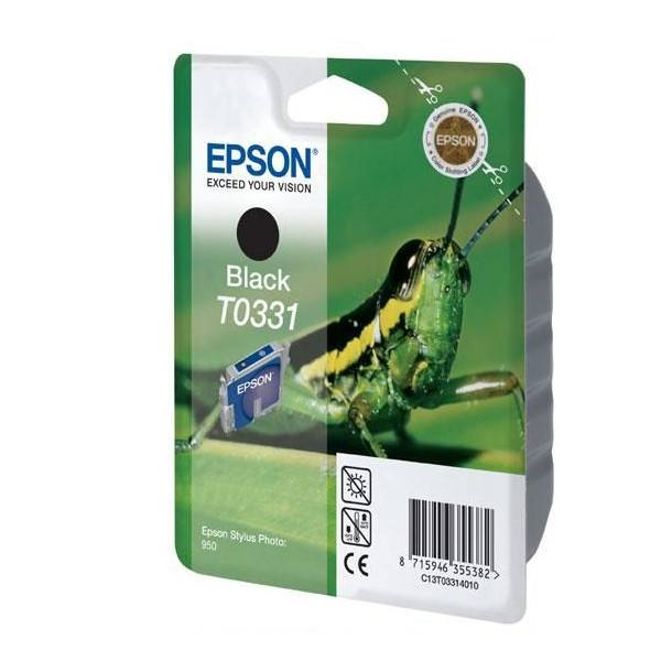 Epson T0331 (T033140) Black Original Ink Cartridge - Gadgitechstore.com