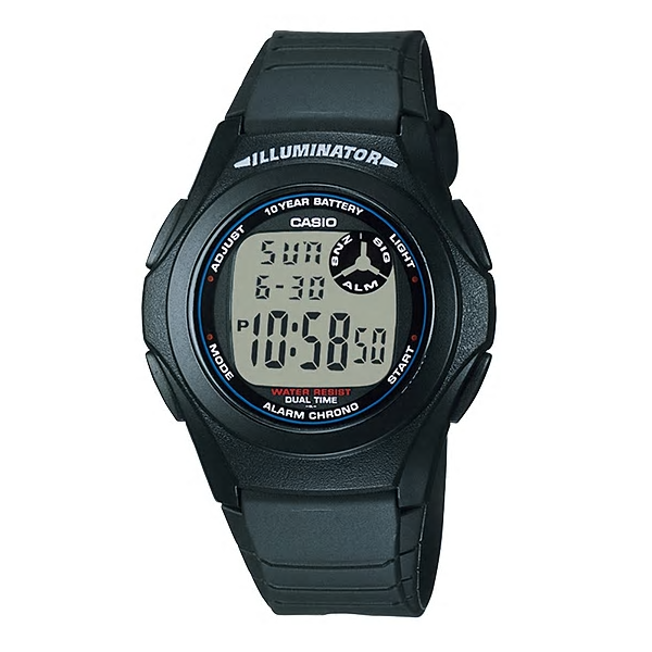 Casio Watches General Digital F-200W-1ADF