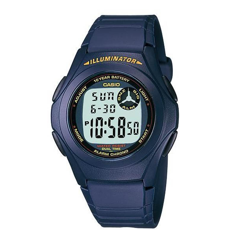 Casio Watches General Digital F-200W-2BDF