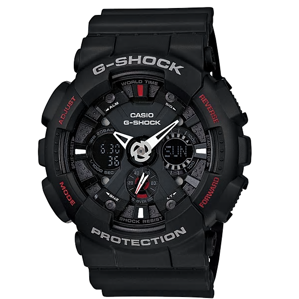 Casio Watches G SHOCK Analog GA-120-1ADR (TH)