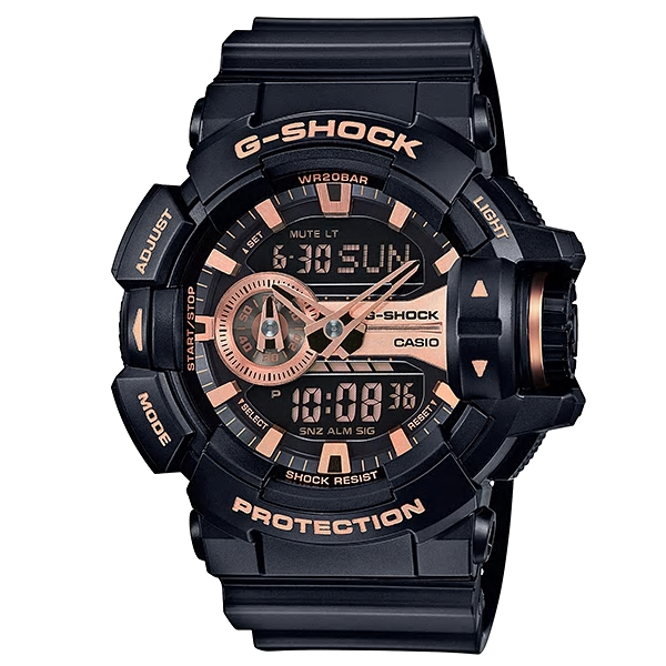 Casio Watches G SHOCK Youth Analog/Digital GA-400GB-1A