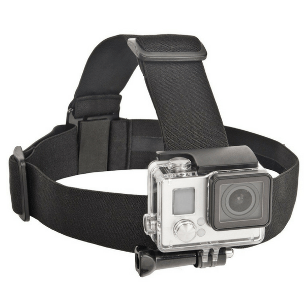 gopro head strap quickclip action camera accessory. Black Bedroom Furniture Sets. Home Design Ideas