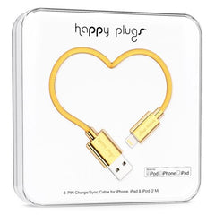 Happy Plugs Lightning Charge/Sync Cable - Gadgitechstore.com