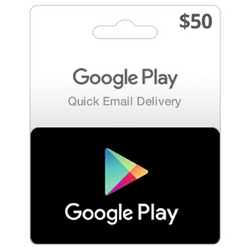 Google Play US Store Gift Card $50