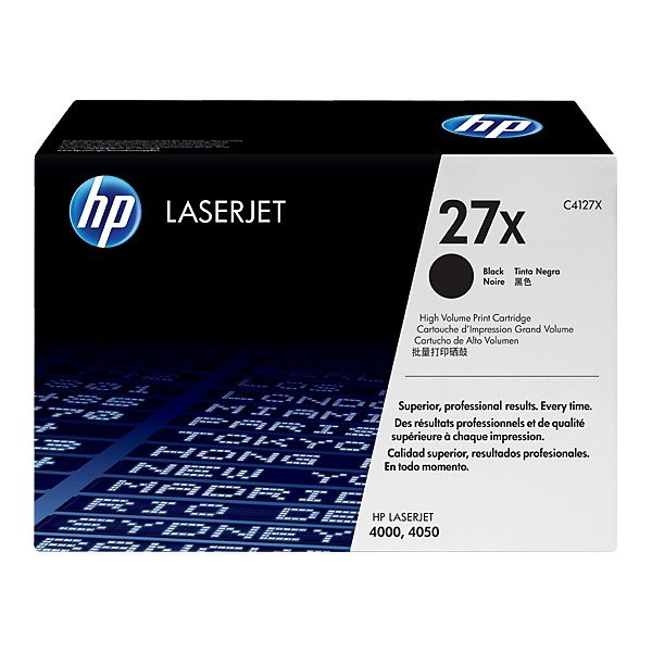 HP 27X High Yield Black Original LaserJet Toner Cartridge - Gadgitechstore.com