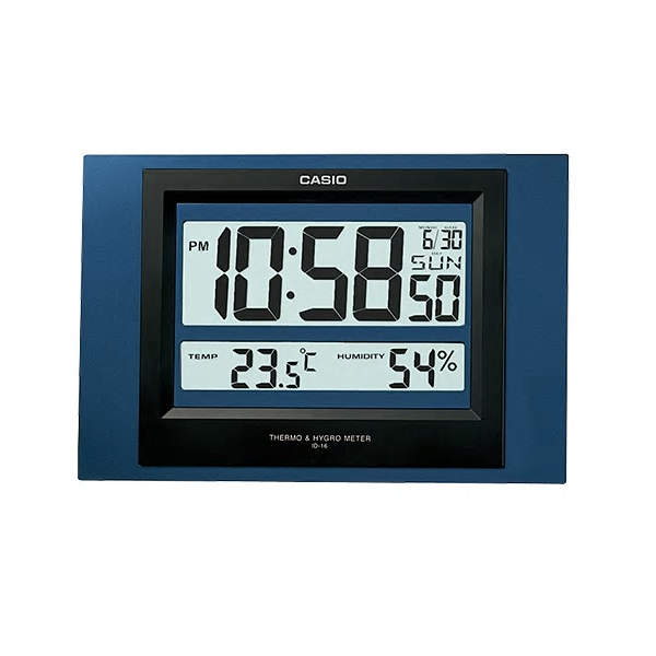 Casio Clock General  Digital ID-16S