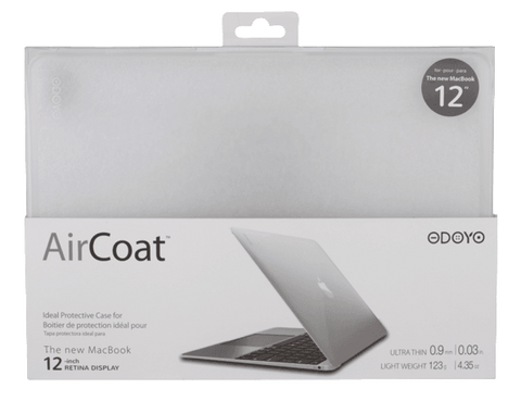 ODOYO AIRCOAT PROTECTIVE HARD CASE - NEW MACBOOK CLEAR - GadgitechStore.com Lebanon - 1