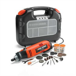 Black+Decker Rotary Tool with 87 Accessories in a Kit Box