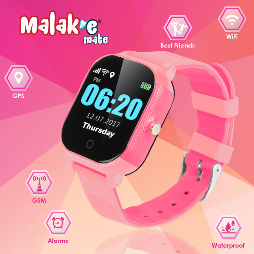 Malak-e Mate1 Mobile Watch GPS/WiFi + Sim